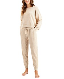 Waffle Knit Pajama Set, Created for Macy's