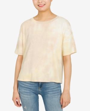 Juniors' Tie-Dyed T-Shirt