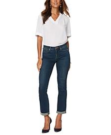 Sheri Slim-Leg Ankle Jeans