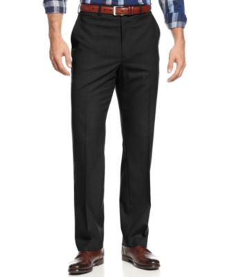 bb6ce71cd5a Michael Kors Michael Kors Men s Solid Classic-Fit Stretch Dress Pants    Reviews - Pants - Men - Macy s