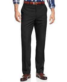 Michael Kors Men's Big and Tall Solid Classic-Fit Stretch Dress Pants