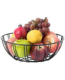 Wire Iron Basket Fruit Bowl