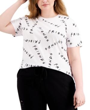 Trendy Plus Size Friends Graphic-Print T-Shirt