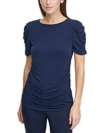 Petite Ruched Top