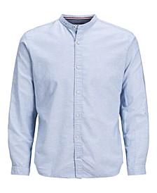 Men's Summer Long Sleeve Band Shirt
