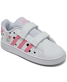 Essentials Toddler Girls Grand Court Stay-Put Casual Sneakers from Finish Line
