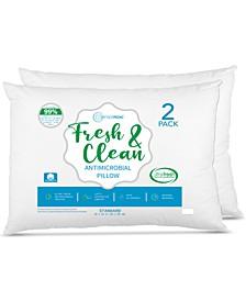 Fresh & Clean Ultra-Fresh Antimicrobial Pillows - Standard, 2-Pack