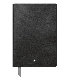 Fine Stationery #146 Black Lined Notebook