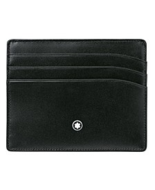 Men's Meisterstück Black Leather 6 Pocket Holder 106653