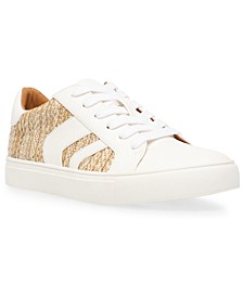 Aldy Lace-Up Chevron Sneakers