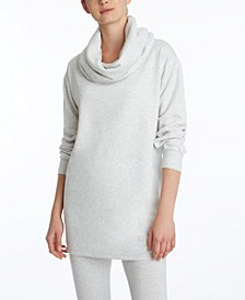 Women's Cowl Neck Tunic Top