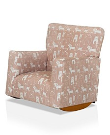 Mallaig Upholstered Kids Rocking Chair