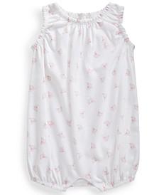Ralph Lauren Baby Girls Nautical-Print Bubble Shortall