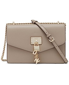 Elissa Large Leather Shoulder Flap