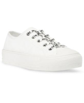 Women's Vex Ribbed Knit Cap-Toe Sneakers