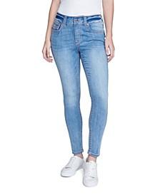 Women's Contrast Stitch Skinny Jean