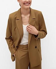 Women's Double-Breasted Blazer