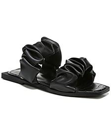 Women's Iggy Ruched-Strap Sandals