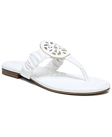Camara Medallion Flat Sandals