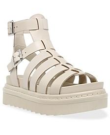 Women's Benefit Lug Sole Gladiator Sandals