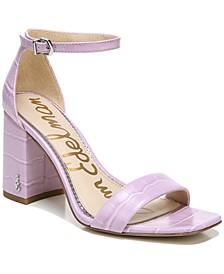 Women's Daniella Two-Piece Block-Heel Sandals