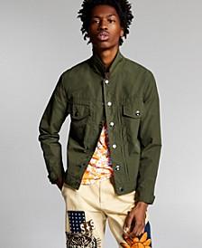 Ouigi Theodore for Men's Nylon Military Jacket, Created for Macy's
