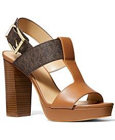 Women's Becker T-Strap Slingback Sandals