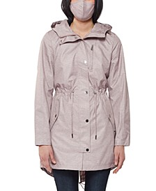 Rain Tech Hooded Anorak Raincoat