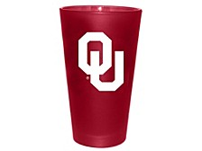 Oklahoma Sooners Team Color Frosted Pint Glass, 16-oz.