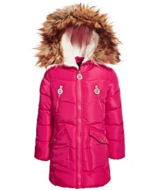 Little Girls Fashion Quilted Puffer Coat