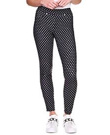 Polka-Dot Leggings, Regular & Petite