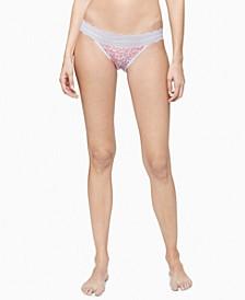 Women's Lace Trim Bikini Underwear QD3780