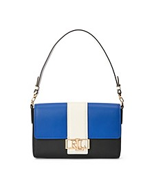 Spencer Tri-Color Leather Shoulder Bag