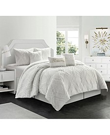 Blossom Comforter Set, King, 7-Piece