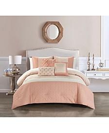Imani Bed in a Bag 10 Piece Comforter Set, Queen