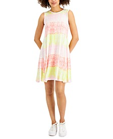 Printed Sleeveless Flip-Flop Dress, Created for Macy's