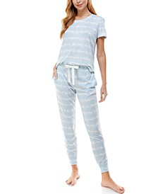 Short Sleeve Loungewear Set