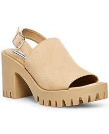 Sunnyside Slingback Lug Sandals