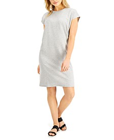 Relaxed Cap-Sleeve Dress
