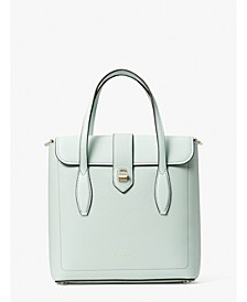 Essential Medium North South Leather Tote
