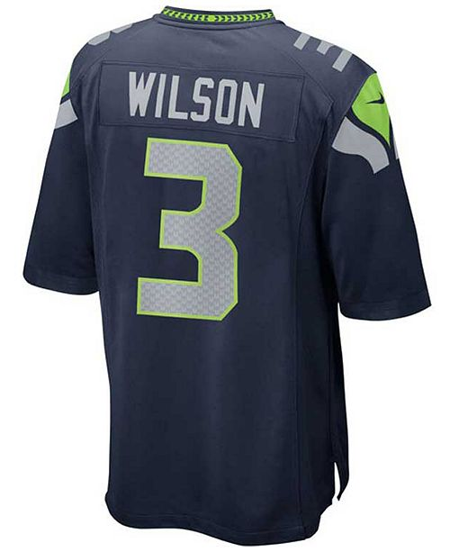 47e042fbf ... Nike Kids  Russell Wilson Seattle Seahawks Game Jersey