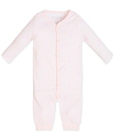 Baby Boys Printed Cotton Coverall
