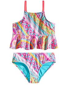 Big Girls 2-Pc. Beach Boho Swim Suit