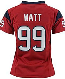 Kids' JJ Watt Houston Texans Game Jersey, Big Boys (8-20)