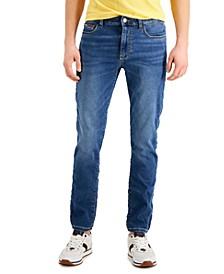 Men's Slim Fit Knit Stretch Archie Jeans