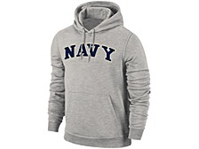 Navy Midshipmen Men's Arch Screenprint Hooded Sweatshirt