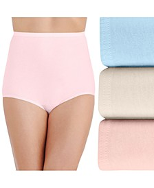 Women's 3-Pk. Perfectly Yours Cotton Brief Underwear 15320