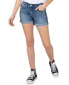 Denim Boyfriend Shorts