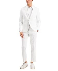 Men's Slim-Fit Shiny Tuxedo Jacket, Created for Macy's