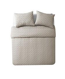 Nina Embossed Comforter Set Collection